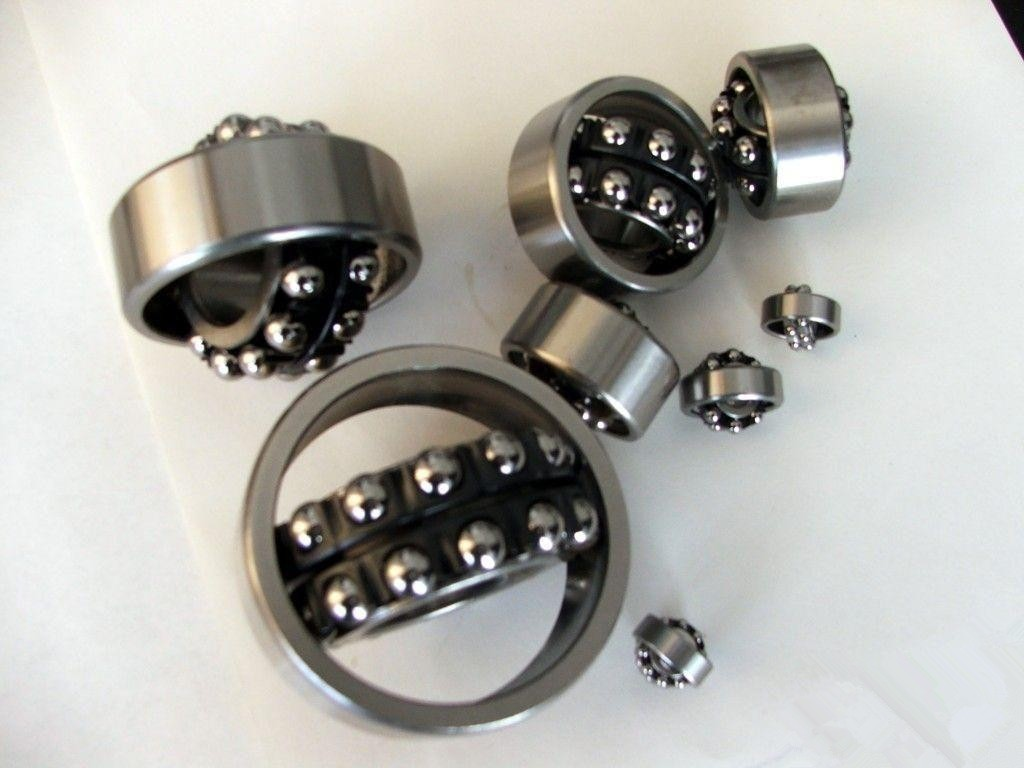 SL08034 Cylindrical Roller Bearing With Spherical OD Outer Ring